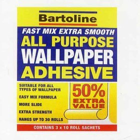 Bartoline Fast Mix All Purpose Wallpaper Adhesive MA43264