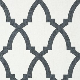 Anna French Brock Trellis Black and White AT6022