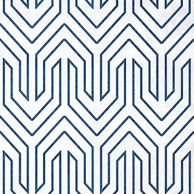 Anna French Colburn Chevron Navy AT9614
