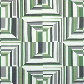 Anna French Cubism Green-White AF9649