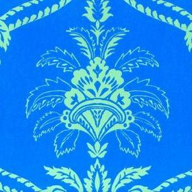 Anna French Damask Blue-Green DAM WP 020