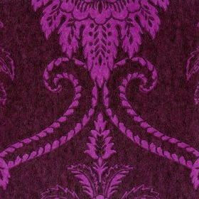Anna French Damask Purple-Brown DAMNW090