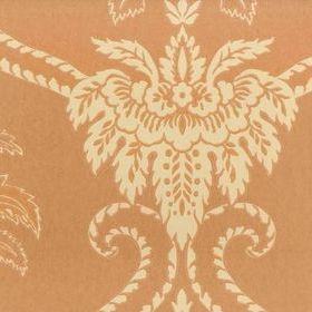 Anna French Damask Terracotta-Buff DAM WP 040
