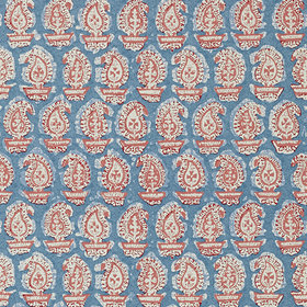 Anna French Gada Paisley Red-Blue AT78786