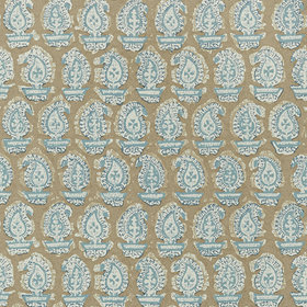 Anna French Gada Paisley Teal AT78785
