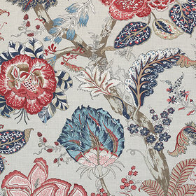 Anna French Kalamkari Blue-Red AF78742