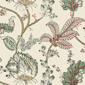 Anna French Kalamkari Vine Red-Gold AT78741