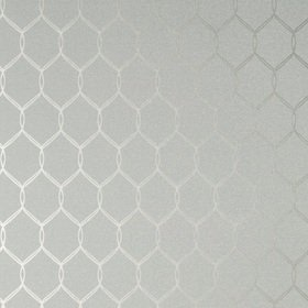 Anna French Leland Trellis Grey-Metallic Silver AT79149