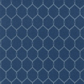 Anna French Leland Trellis Navy AT79150