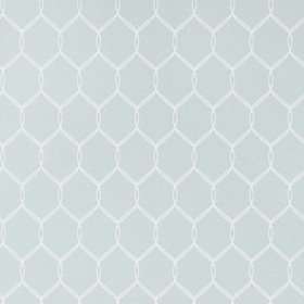 Anna French Leland Trellis Soft Blue AT79147