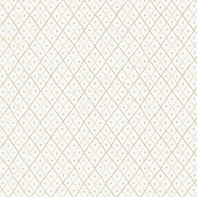 Anna French Mini Trellis Beige AT78752