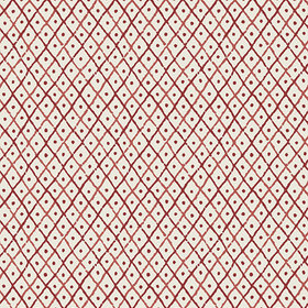 Anna French Mini Trellis Red AT78755
