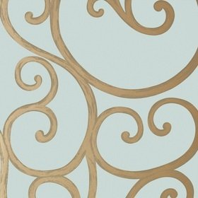 Anna French Palace Gate Metallic Gold-Aqua AT6051