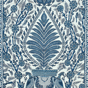 Anna French Palampore Blue-White AF78725