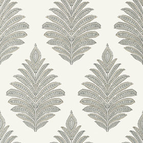 Anna French Palampore Leaf Grey AT78724