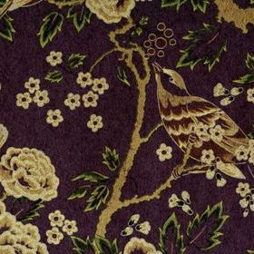 Anna French Songbirds Gold-Purple SONNW098