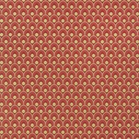 Anna French Spencer Metallic Gold-Red AT79155