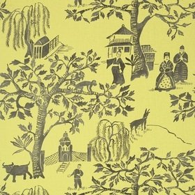 Anna French Willow Wood Citron AT7914