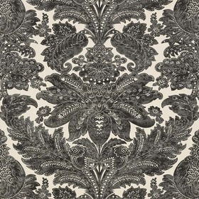 Arcadia Indore Damask Charcoal AR00303