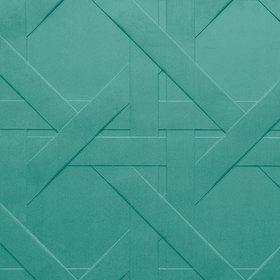 Designer teal wallpaper uk teal pattern wallpaper arte cannage 61522 voltagebd Gallery