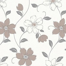 Arthouse Anouska Floral Taupe 871106
