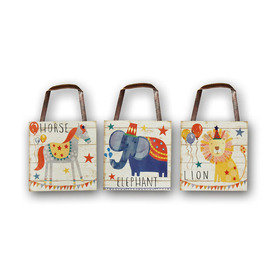 Arthouse Circus Fun Set of 3 Wooden Plaques 004664