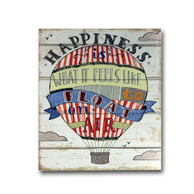 Arthouse Circus Fun Wooden Plaque 004676