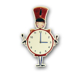Arthouse Drummer Boy Clock 008360