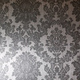 Arthouse For S.J. Dixon Foil Damask Silver 294401
