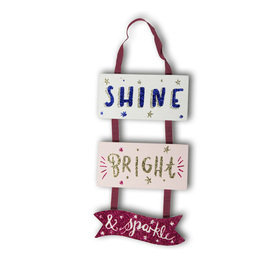 Arthouse Girls Life Wooden Hanging Sign 004661