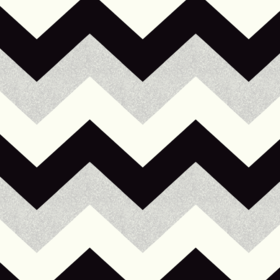 Arthouse For S.J. Dixon Glitterati Chevron Black-Platinum 892301