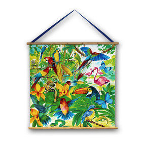 Arthouse Jungle Mania Wall Scroll 008356