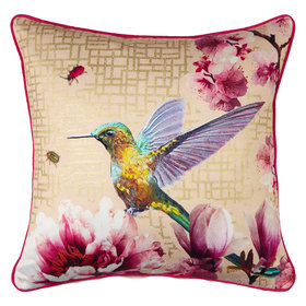 Arthouse Kotori Gold Embroided Double Sided Cushion 004763