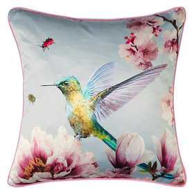 Arthouse Kotori Sky Blue Double Sided Cushion 004767