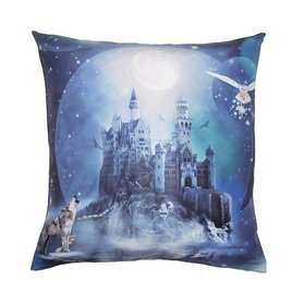 Arthouse Magical Kingdom Blue Cushion 008348