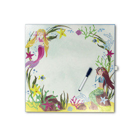 Arthouse Mermaid World White Board 004687