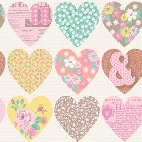 Arthouse Patchwork Heart 668500