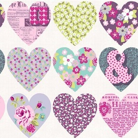 Arthouse Patchwork Heart 668501