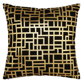 Arthouse Satoni Double Sided Cushion Black-Gold 004771