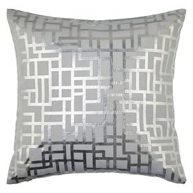 Arthouse Satoni Double Sided Cushion Silver 004772