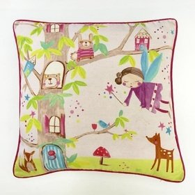 Arthouse Woodland Fairies Cushion 008311