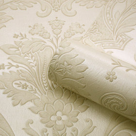 Belgravia Decor Damasco Italiano Cream-Ivory GB5861