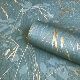 Belgravia Decor Maizie Teal-Gold GB5022
