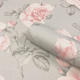 Belgravia Decor Rosa Blush-Grey GB9766