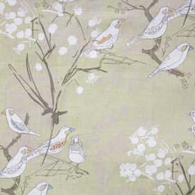 Belynda Sharples Finches Soft Green BS-LU-FIN-02