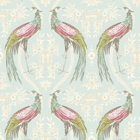Blendworth Fabled Crane Green-Pink-White 002