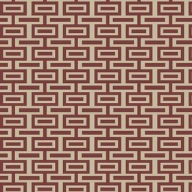 Blendworth Intaglio Weave Red 004