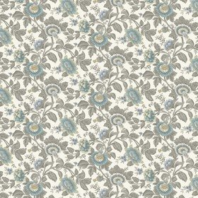 Blendworth Tonquin Print Grey-White 001