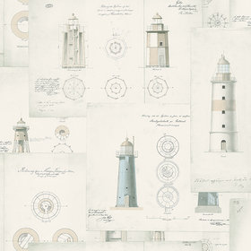 Borastapeter Lighthouse 8867