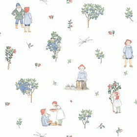 Elsa Beskow For Borastapeter Putte 6234